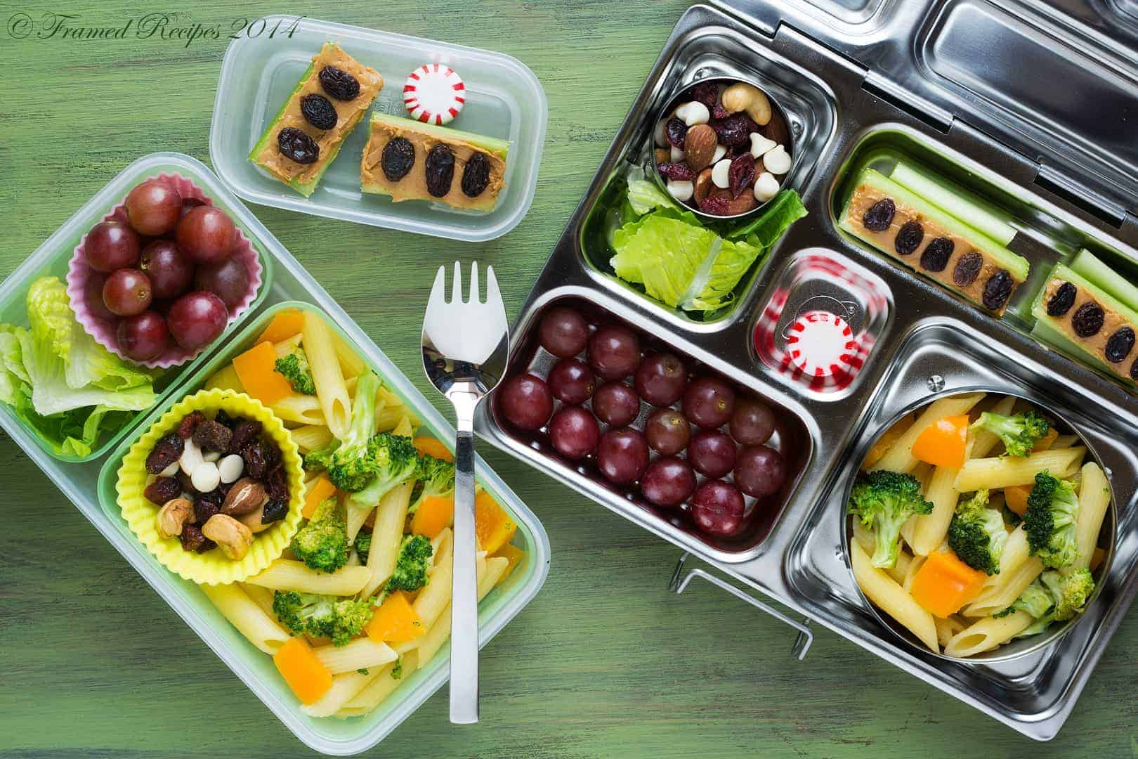 Even more adult-size packed lunches…
