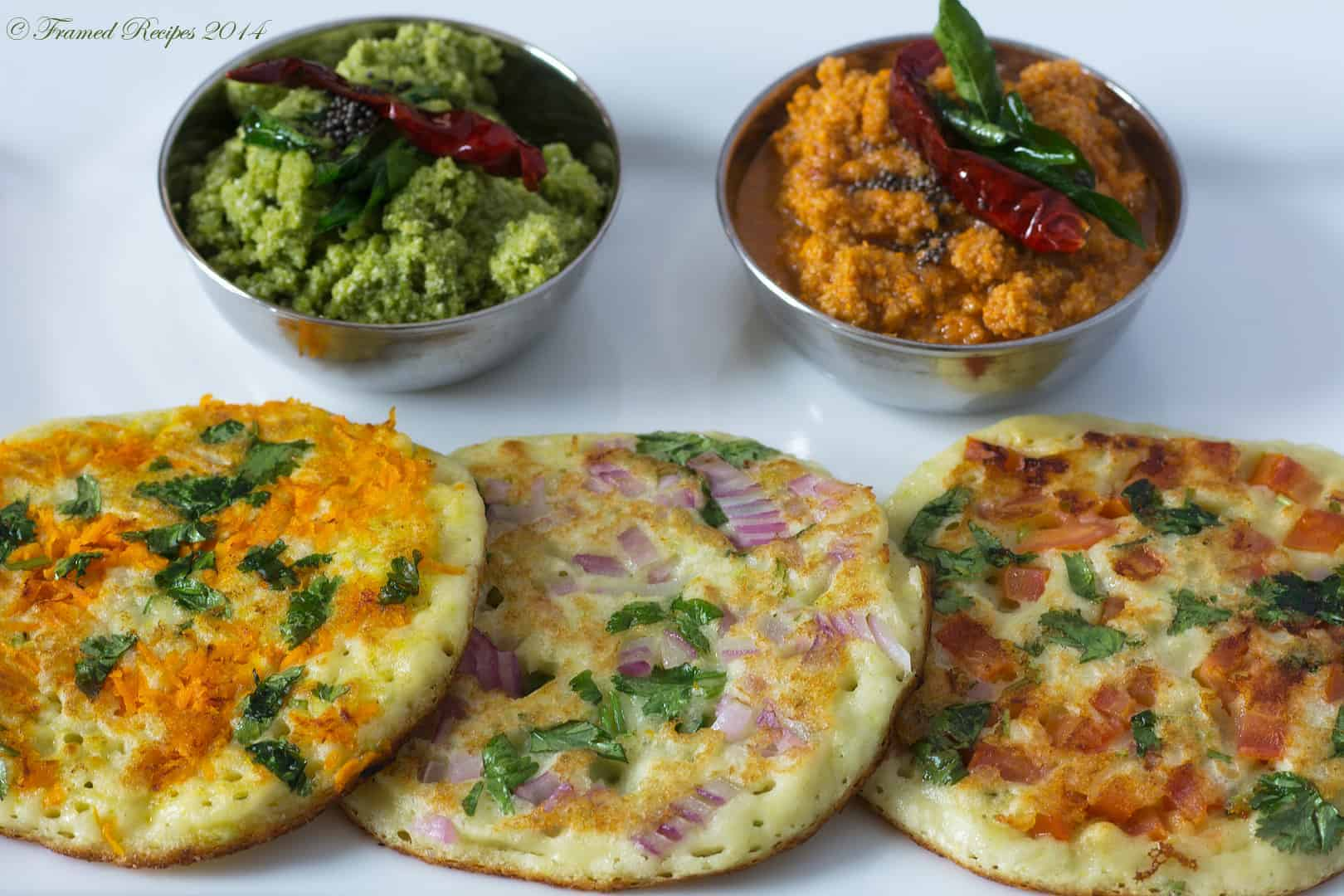 Uthappam Framed Recipes