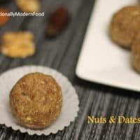 Nuts and Dates Ladoo