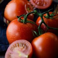 How to blanch and peel tomatoes