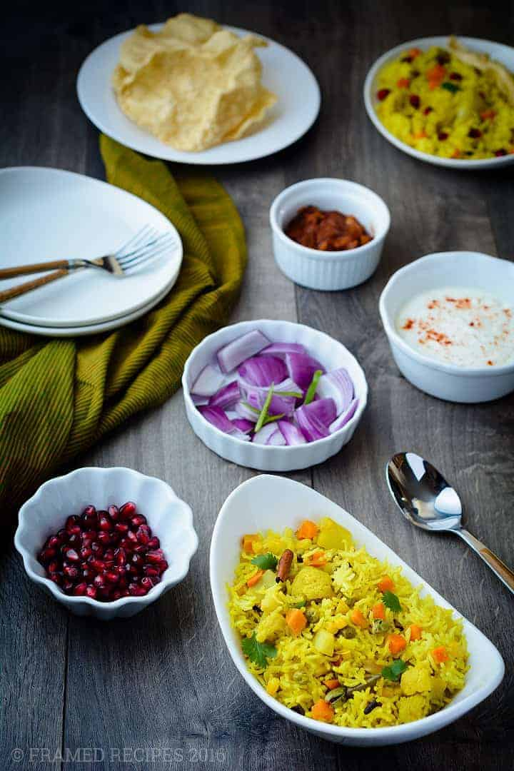 Tehri framed recipes for Awadhi cuisine history