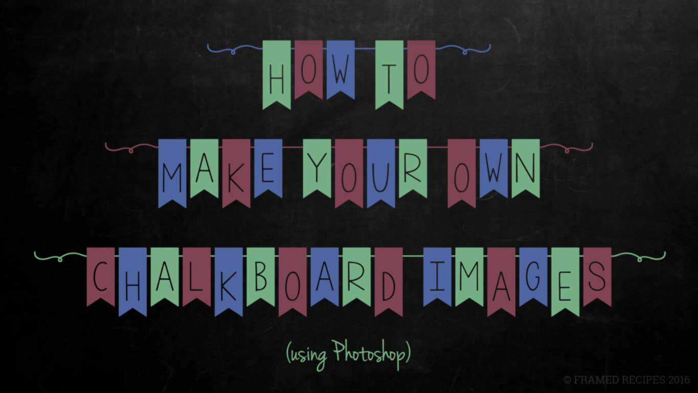 How-to-make-chalkboard-images-using-photoshop