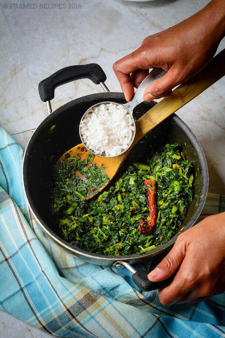 Kale Thoran (Kerala-Style Kale Stir Fry)