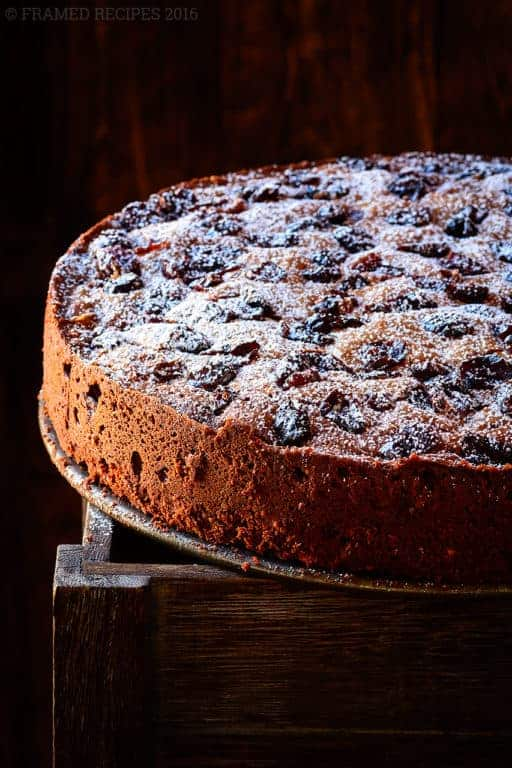 Chocolate Cranberry Torte