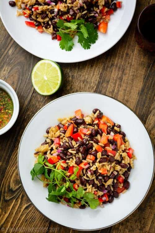 Black Beans Wild Rice Salad