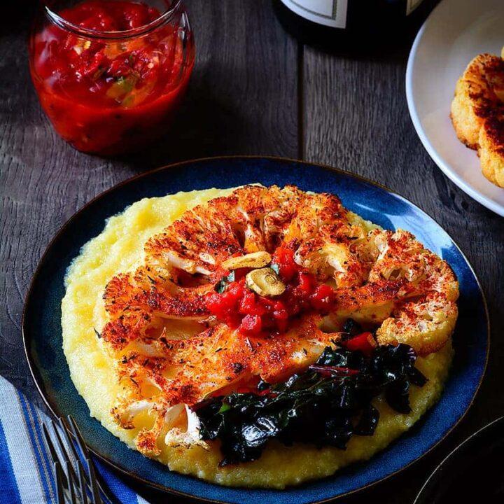 Polenta_with_Cauliflower_Steak