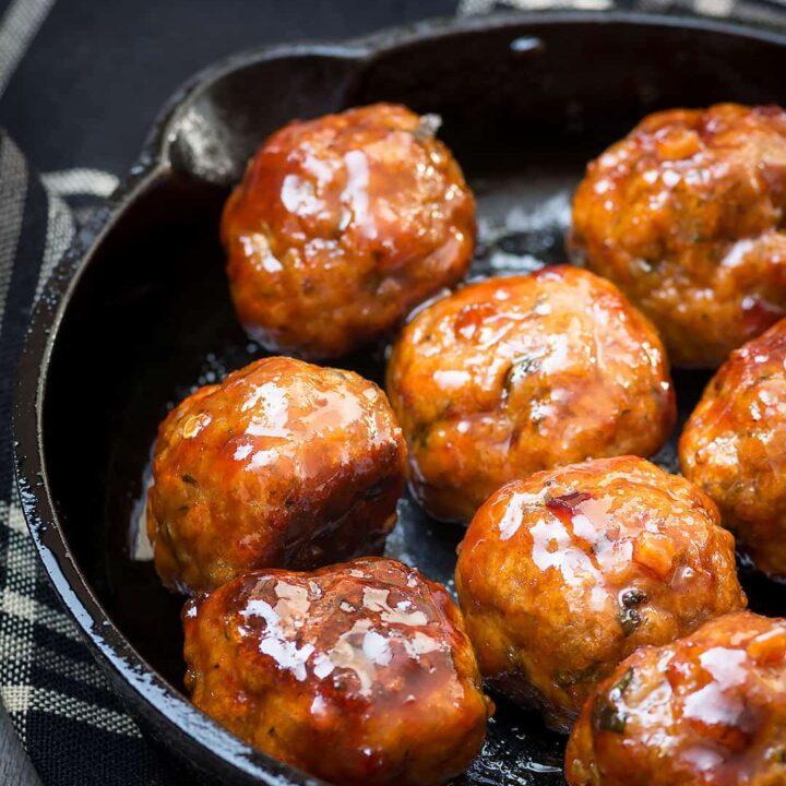 Turkey_Meatballs_With_Spicy_Brown_Sugar_Glaze