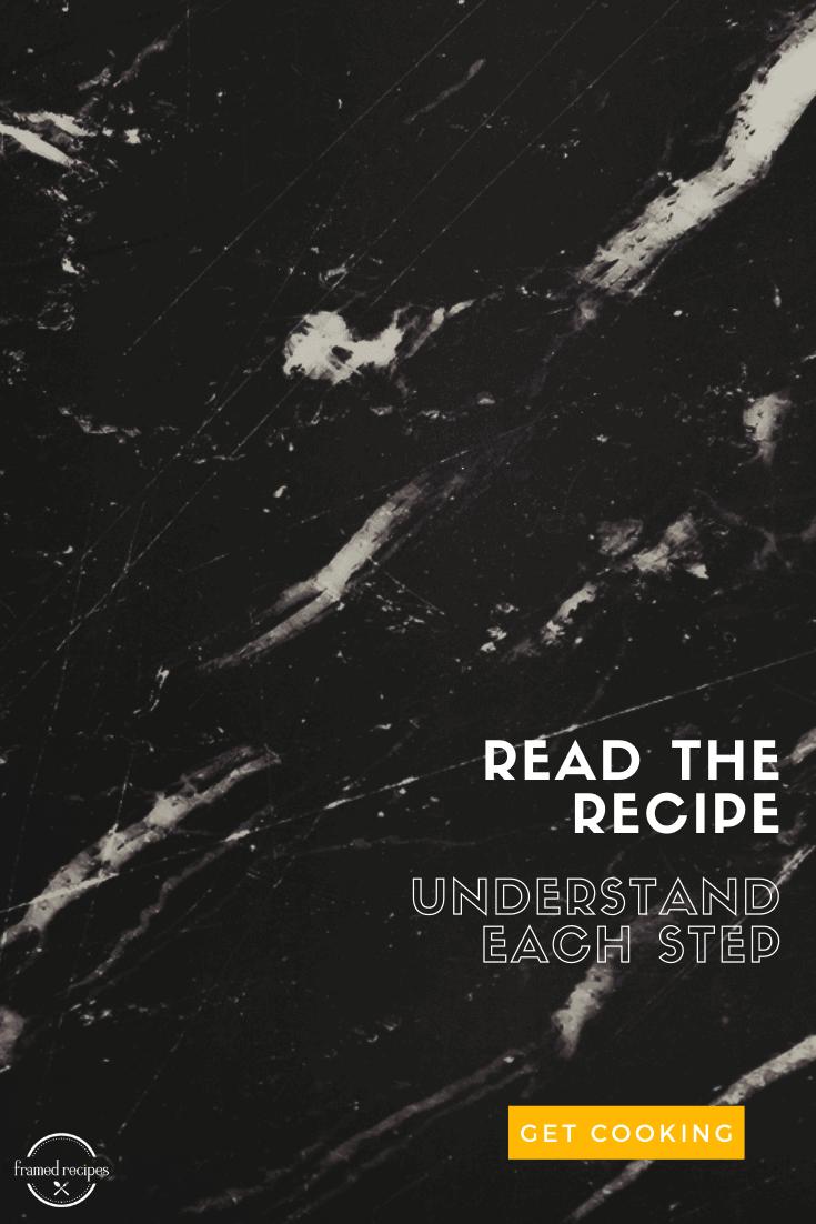 read the recipe