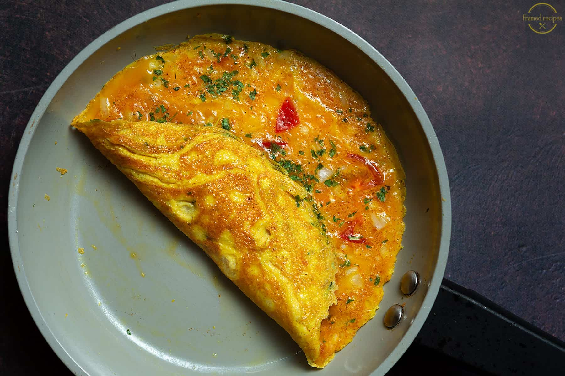 Indian style masala omelet