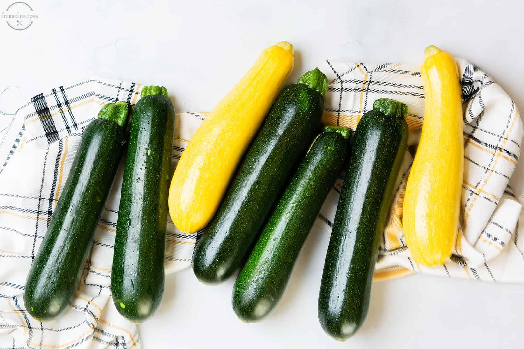 zucchini and yellow squash
